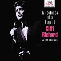 Cover Cliff Richard & The Shadows - Milestones Of A Legend