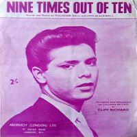 Cover Cliff Richard & The Shadows - Nine Times Out Of Ten