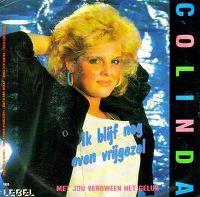 Cover Colinda - Ik blijf nog even vrijgezel