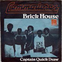 Cover Commodores - Brick House
