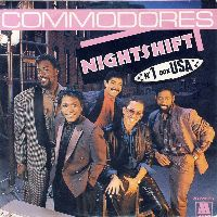 Cover Commodores - Nightshift