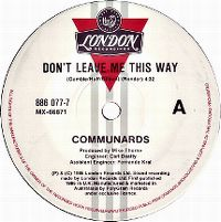 Cover Communards with Sarah Jane Morris - Don't Leave Me This Way