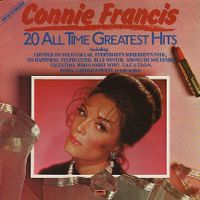 Cover Connie Francis - 20 All Time Greatest Hits