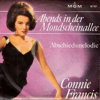 Cover Connie Francis - Abends in der Mondscheinallee