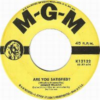 Cover Connie Francis - Are You Satisfied