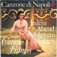 Cover Connie Francis - Canzone di Napoli
