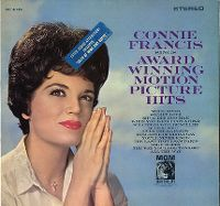 Cover Connie Francis - Connie Francis Sings Award Winning Motion Picture Hits