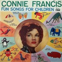 Cover Connie Francis - Connie Francis Sings Fun Songs For Children