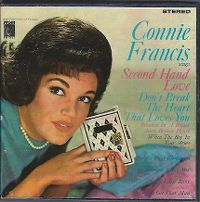 Cover Connie Francis - Connie Francis Sings Second Hand Love