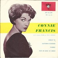 Cover Connie Francis - Diselo tu