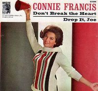 Cover Connie Francis - Don't Break The Heart That Loves You