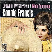 Cover Connie Francis - Drownin' My Sorrows