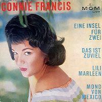 Cover Connie Francis - Eine Insel für Zwei