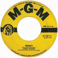 Cover Connie Francis - Freddy