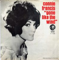 Cover Connie Francis - Gone Like The Wind