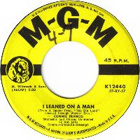 Cover Connie Francis - I Leaned On A Man