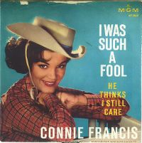 Cover Connie Francis - I Was Such A Fool (To Fall In Love With You)