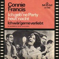 Cover Connie Francis - Ich geb' 'ne Party heut' Nacht