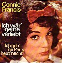 Cover Connie Francis - Ich wär' gerne verliebt