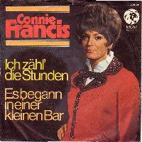 Cover Connie Francis - Ich zähl' die Stunden (bis zum Wiederseh'n)