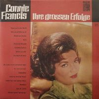 Cover Connie Francis - Ihre grossen Erfolge