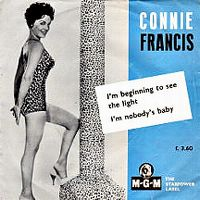 Cover Connie Francis - I'm Beginning To See The Light