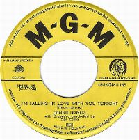 Cover Connie Francis - I'm Falling In Love With You Tonight