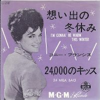 Cover Connie Francis - I'm Gonna' Be Warm This Winter
