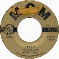 Cover Connie Francis - Jamais