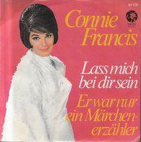 Cover Connie Francis - Laß mich bei dir sein