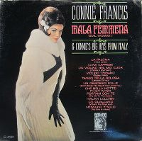 Cover Connie Francis - Mala Femmena & Connie's Big Hits From Italy
