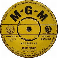 Cover Connie Francis - Malagueña