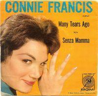 Cover Connie Francis - Many Tears Ago