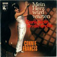 Cover Connie Francis - Mein Herz wird warten