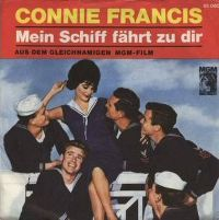 Cover Connie Francis - Mein Schiff fährt zu dir