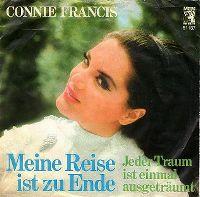 Cover Connie Francis - Meine Reise ist zu Ende