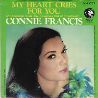 Cover Connie Francis - My Heart Cries For You