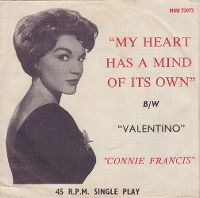 Cover Connie Francis - My Heart Has A Mind Of Its Own