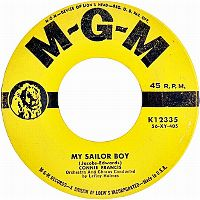 Cover Connie Francis - My Sailor Boy