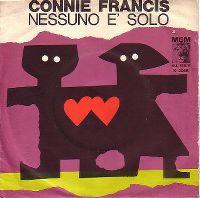 Cover Connie Francis - Nessuno e solo