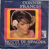 Cover Connie Francis - Notti di Spagna