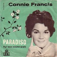 Cover Connie Francis - Paradiso