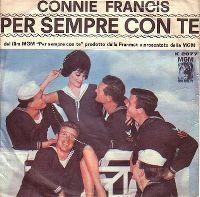 Cover Connie Francis - Per sempre con te