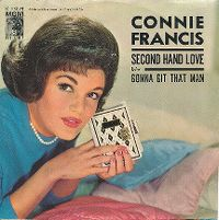 Cover Connie Francis - Second Hand Love