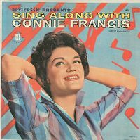 Cover Connie Francis - Sing Along With Connie Francis