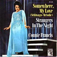 Cover Connie Francis - Somewhere My Love