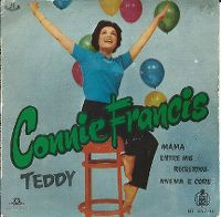 Cover Connie Francis - Teddy
