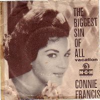Cover Connie Francis - The Biggest Sin Of All