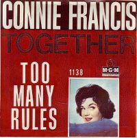 Cover Connie Francis - Together