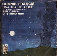 Cover Connie Francis - Una notte cosi'